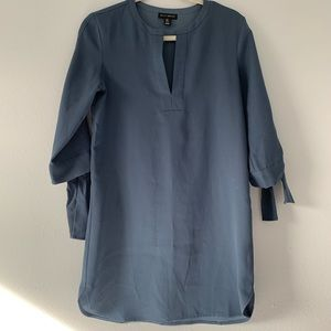 Willi smith blue shift dress
